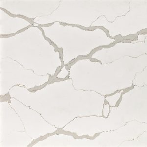 Calacatta Marble lookalike in engineered quartz