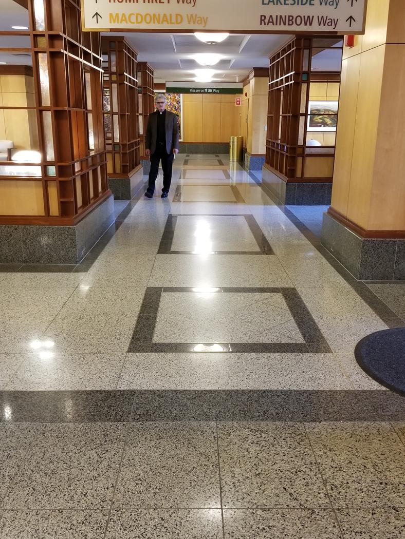 University Hospital Terrazzo Flooring 3 Sps Stone Group